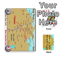 Ticket To Ride: Northern Egypt By Matthew Stevenson   Playing Cards 54 Designs   Gitpx2t0lxbl   Www Artscow Com Front - Heart4