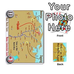 Ticket To Ride: Northern Egypt By Matthew Stevenson   Playing Cards 54 Designs   Gitpx2t0lxbl   Www Artscow Com Front - Club6