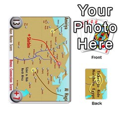 Ticket To Ride: Northern Egypt By Matthew Stevenson   Playing Cards 54 Designs   Gitpx2t0lxbl   Www Artscow Com Front - Club8