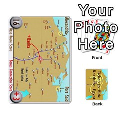 Ticket To Ride: Northern Egypt By Matthew Stevenson   Playing Cards 54 Designs   Gitpx2t0lxbl   Www Artscow Com Front - Club9