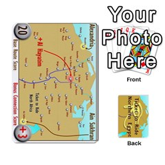 Ticket To Ride: Northern Egypt By Matthew Stevenson   Playing Cards 54 Designs   Gitpx2t0lxbl   Www Artscow Com Front - Club10