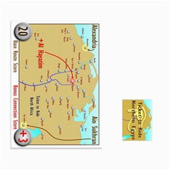 Ace Ticket To Ride: Northern Egypt By Matthew Stevenson   Playing Cards 54 Designs   Cjxusr6n6no0   Www Artscow Com Front - ClubA