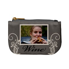 Wine And Beer Mini Coin Purse By Deborah   Mini Coin Purse   Ap9wr1eb8sa7   Www Artscow Com Front