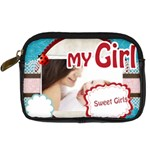my girl - Digital Camera Leather Case