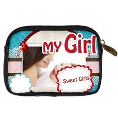 My Girl By Joely   Digital Camera Leather Case   Q8kq7r9adjzt   Www Artscow Com Back
