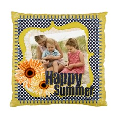 Happy Summer By Joely   Standard Cushion Case (two Sides)   Uocrv84eyn3a   Www Artscow Com Front