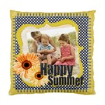 happy summer - Standard Cushion Case (Two Sides)