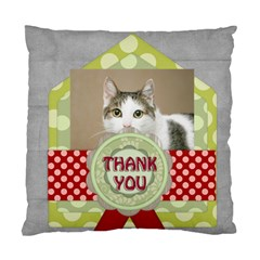 Thank You By Joely   Standard Cushion Case (two Sides)   Y9yqqzotp894   Www Artscow Com Front