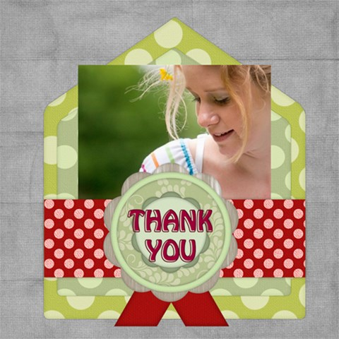 Thank You By Joely   Scrapbook Page 8  X 8    K0kv0rv4zak0   Www Artscow Com 8 x8 Scrapbook Page - 1