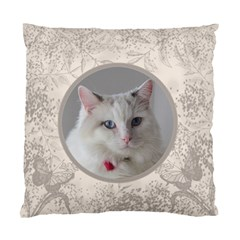 Coffee And Cream Double Sided Cushion By Deborah   Standard Cushion Case (two Sides)   733ubkitqjk2   Www Artscow Com Front