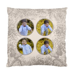 Coffee And Cream Double Sided Cushion By Deborah   Standard Cushion Case (two Sides)   733ubkitqjk2   Www Artscow Com Back
