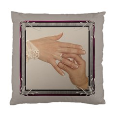Cream Cushion Case (2 Sided) By Deborah   Standard Cushion Case (two Sides)   G8exisbgbnut   Www Artscow Com Back