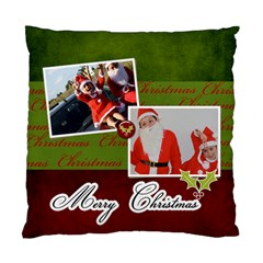 Cushion Case (two Sides) : Merry Christmas By Jennyl   Standard Cushion Case (two Sides)   B7bd5hhc6uld   Www Artscow Com Front