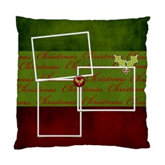 Cushion Case (two Sides) : Merry Christmas By Jennyl   Standard Cushion Case (two Sides)   B7bd5hhc6uld   Www Artscow Com Back
