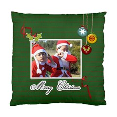 Cushion Case (two Sides)  Merry Christmas 2 By Jennyl   Standard Cushion Case (two Sides)   Tnjab6s3y1wd   Www Artscow Com Front