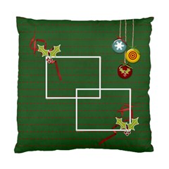 Cushion Case (two Sides)  Merry Christmas 2 By Jennyl   Standard Cushion Case (two Sides)   Tnjab6s3y1wd   Www Artscow Com Back
