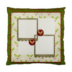Cushion Case (two Sides)  Merry Christmas 3 By Jennyl   Standard Cushion Case (two Sides)   287k857lr7u0   Www Artscow Com Back