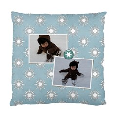 Cushion Case (two Sides): Snow Fun By Jennyl   Standard Cushion Case (two Sides)   T06ybtkt3lqg   Www Artscow Com Back