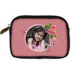 Digital Camera Leather Case - Girly1