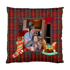 Christmas Cookies Double Sided Cushion By Catvinnat   Standard Cushion Case (two Sides)   2k3m1sfni4ac   Www Artscow Com Front