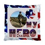 My Hero US Military Double sided cushion - Cushion Case (Two Sides)