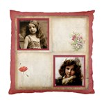Rosa Botanica Double sided cushion - Cushion Case (Two Sides)