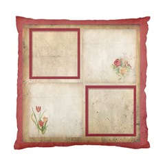 Rosa Botanica Double Sided Cushion By Catvinnat   Standard Cushion Case (two Sides)   Svw706grtzol   Www Artscow Com Back