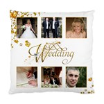 Wedding Double sided cushion - Standard Cushion Case (Two Sides)