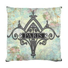 Deco Fleur De Lis Pillow Artsnow Cushion Case (Two Sides) by Fandangomoon