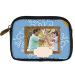 family - Digital Camera Leather Case