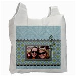 Summer Sophisticate Recycle Bag - Recycle Bag (One Side)
