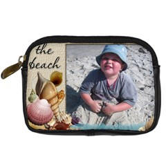 Beach Ocean Camera Case By Eleanor Norsworthy   Digital Camera Leather Case   6hmj5639eatm   Www Artscow Com Front