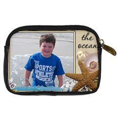 Beach Ocean Camera Case By Eleanor Norsworthy   Digital Camera Leather Case   6hmj5639eatm   Www Artscow Com Back