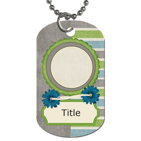 Tutti Frutti Two Tag By Bitsoscrap   Dog Tag (one Side)   Eovlxt9odolj   Www Artscow Com Front