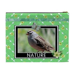Nature XL Cosmetic Bag by Lil Back