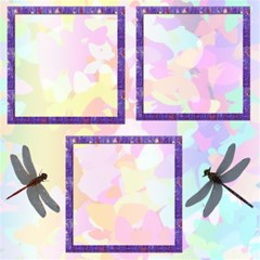 pretty pastels 10 scrapbook pages by Kim Blair 12 x12 Scrapbook Page - 3