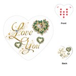 Love You Heart Playing Cards - Playing Cards (Heart)