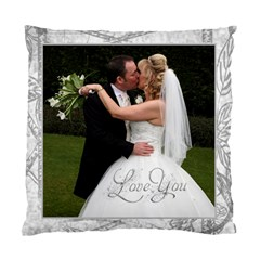 Lovely Day Wedding Cushion Double Sided By Catvinnat   Standard Cushion Case (two Sides)   65sebrljr7g9   Www Artscow Com Back