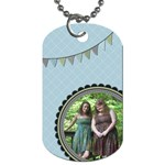 Summer Sophisticate Dog Tag - Dog Tag (Two Sides)