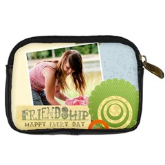 Friendship By Joely   Digital Camera Leather Case   Hto8t8a01iq0   Www Artscow Com Back