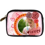 love - Digital Camera Leather Case