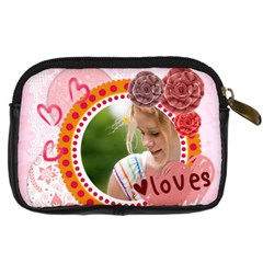 Love By Joely   Digital Camera Leather Case   Fzx0egovtmvh   Www Artscow Com Back