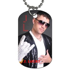 J  Lucas Dog Tag By Carol Schwenk   Dog Tag (two Sides)   Xyo4ehgtmedv   Www Artscow Com Back