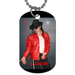 J  Lucas Dog Tag By Carol Schwenk   Dog Tag (two Sides)   Zsa85l3s9k5m   Www Artscow Com Front