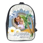 summer holiday - School Bag (Large)