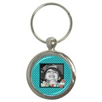 Everyday Chaos keychain - Key Chain (Round)