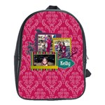 Kelly Anne Large Backpack - School Bag (Large)