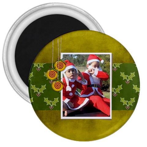 3  Magnet   Christmas 2 By Jennyl   3  Magnet   Rfgb9pwovbh3   Www Artscow Com Front