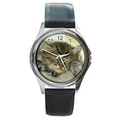 Cat3 Round Metal Watch