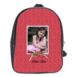 School Bag (Large)- Red Bag